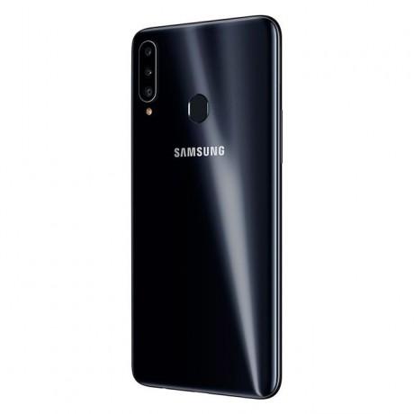 Samsung Galaxy A20s Dual SIM - 6.5 Inch, 32 GB, 3 GB RAM, 4G LTE - Black