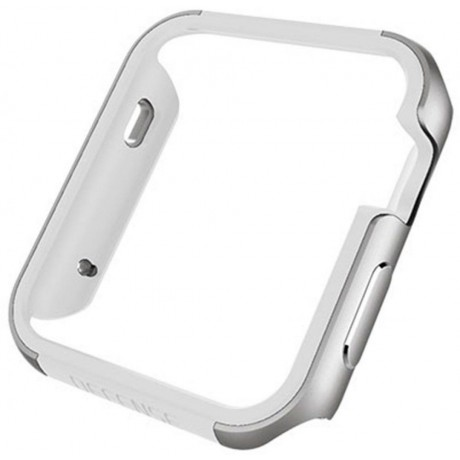 X-doria defense edge machined metal guard for apple watch 42mm-Silver