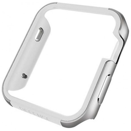 X-doria Defense Edge Machined Metal Guard for Apple Watch Series 3 42mm - Silver