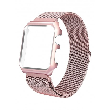 Stainless Steel Band For Apple Watch 42 mm Rose Gold