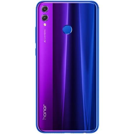 Honor 8X Dual SIM - 128GB, 4GB RAM, 4G LTE, Phantom Blue