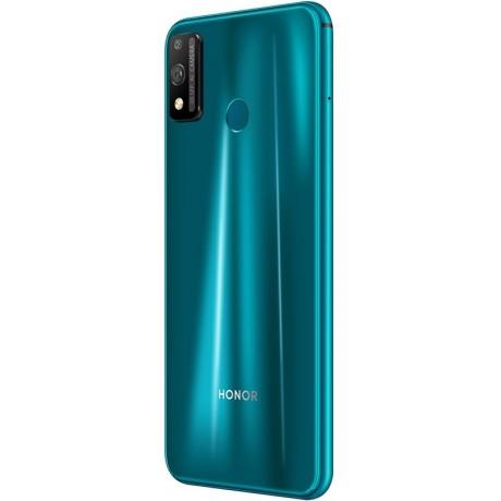 Honor 9X Lite Dual SIM - 128GB, 4GB RAM, 4G LTE - Emerald Green