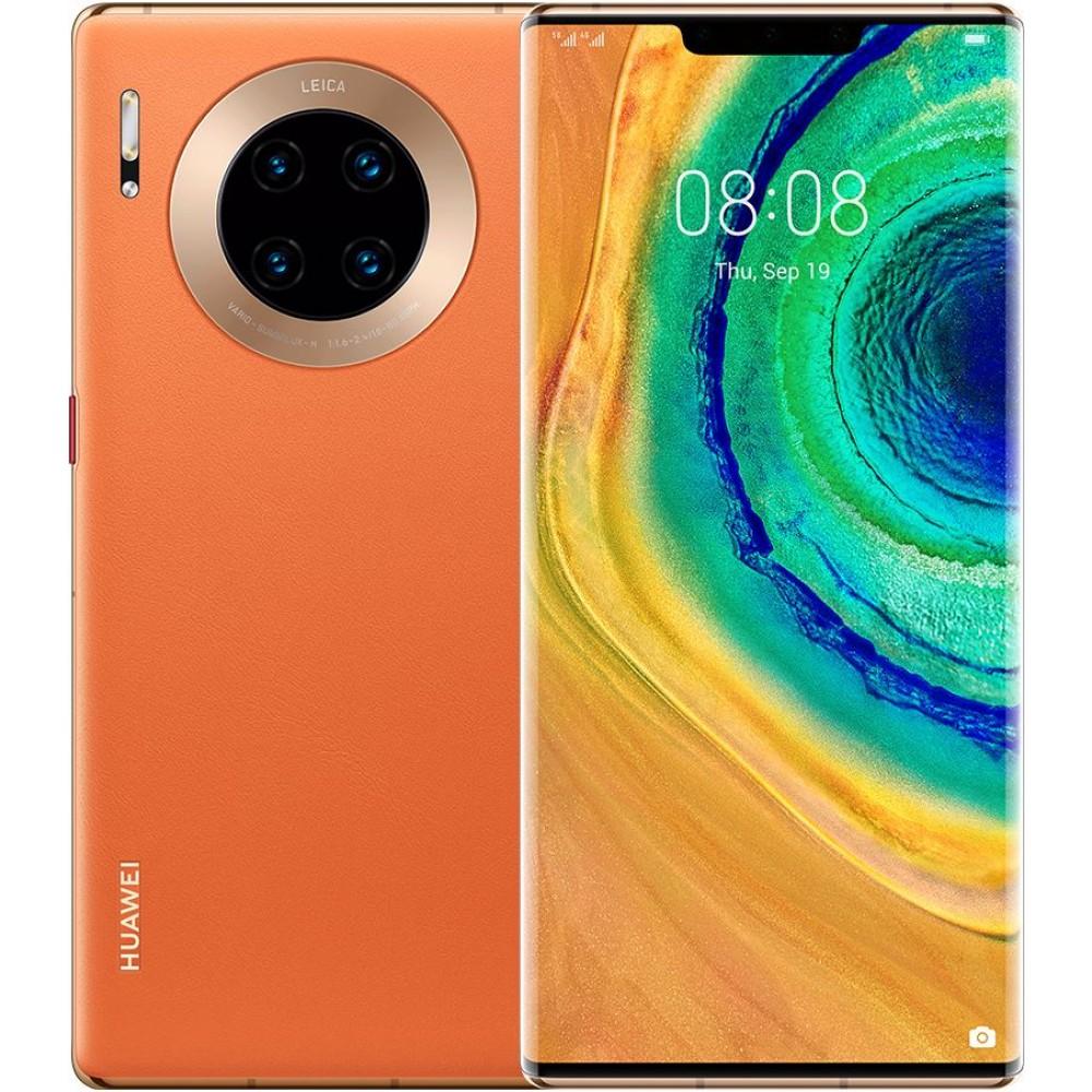 Huawei Mate 30 Pro Dual Sim Mobile - 6.53 Inches, 256 GB, 8 GB RAM, 5G - Orange
