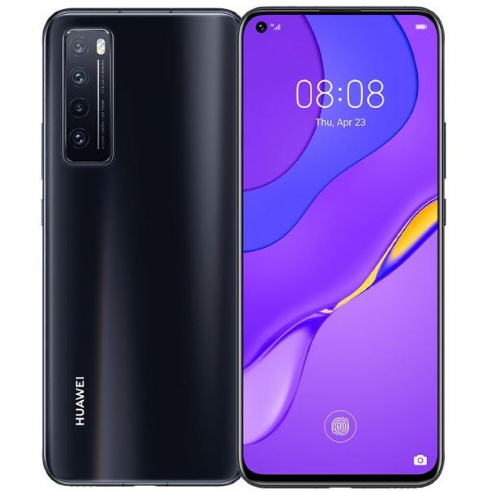 Huawei Nova 7 Dual SIM - 256GB, 8GB RAM, 5G, Black