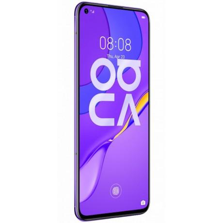 Huawei Nova 7 Dual SIM - 256GB, 8GB RAM, 5G, Midsummer Purple
