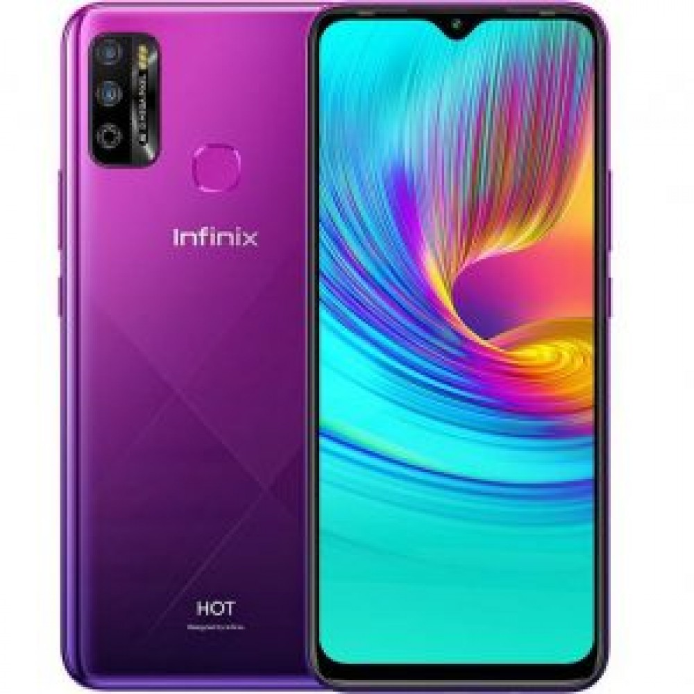 Infinix Hot 9 - 6.6-inch 64GB/4GB Dual SIM Mobile Phone - Violet