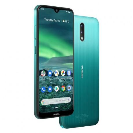 Nokia 2.3 - 6.2-inch 32GB/2GB Mobile Phone - Cyan Green
