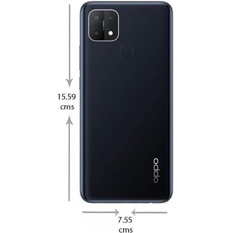 OPPO A15 Dual SIM Mobile - 6.52 Inches, 32 GB, 2 GB RAM, 4G LTE - Dynamic Black