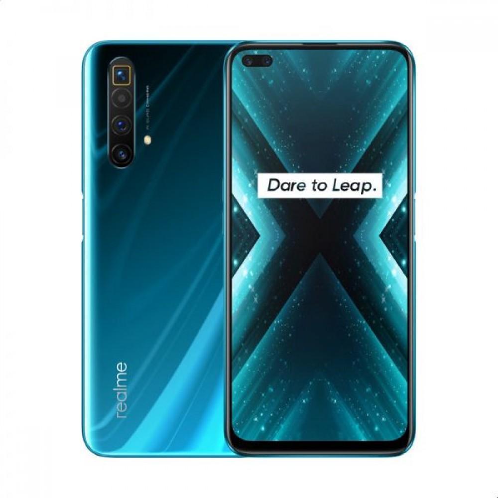 Realme X3 Super Zoom Dual SIM - 256GB, 12GB RAM, 4G LTE - Glacier Blue
