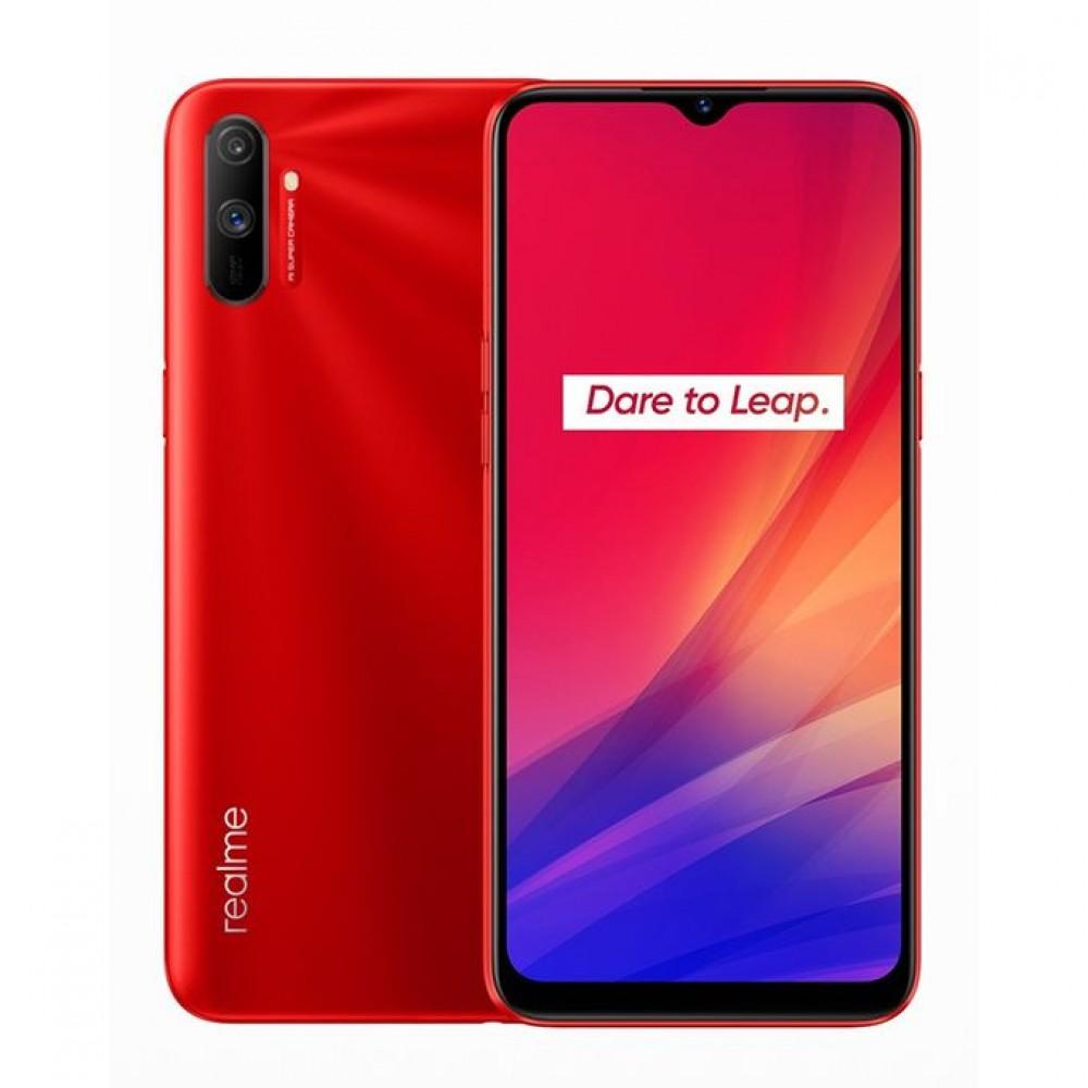 realme C3i - 6.5-inch 32GB-3GB Dual SIM Mobile Phone - Blazing Red