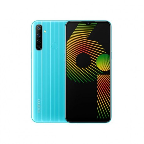realme 6i - 6.5-inch 64GB/3GB 4G Mobile Phone - Blue Soda
