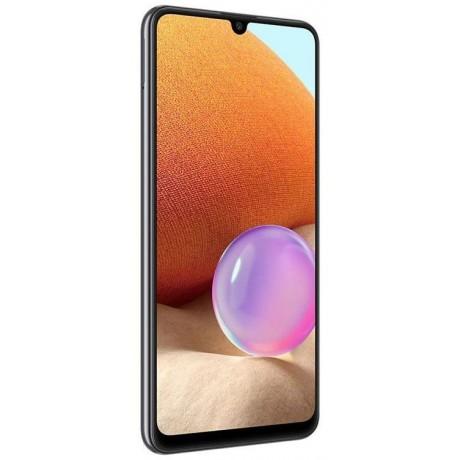 Samsung Galaxy A32 Dual SIM - 6.4 Inches, 6GB RAM, 128GB, 4G LTE - Awesome Black