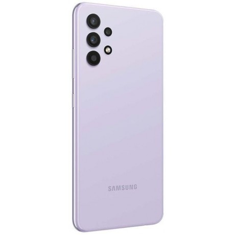 Samsung Galaxy A32 Dual SIM - 6.4 Inches, 6GB RAM, 128GB, 4G LTE - Violet