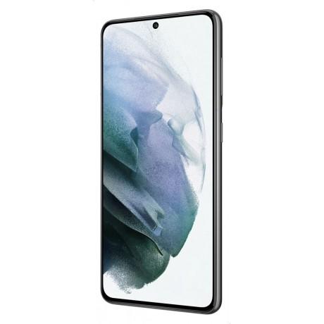Samsung Galaxy S21 Dual SIM Mobile - 6.2 inches, 128 GB, 8 GB RAM, 5G - Gray