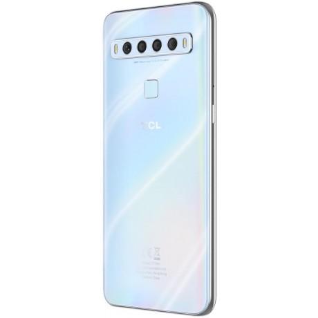 TCL 10 Lite Dual SIM Mobile Phone, 6.53 Inch, 6 GB RAM, 64 GB, 4G LTE - White