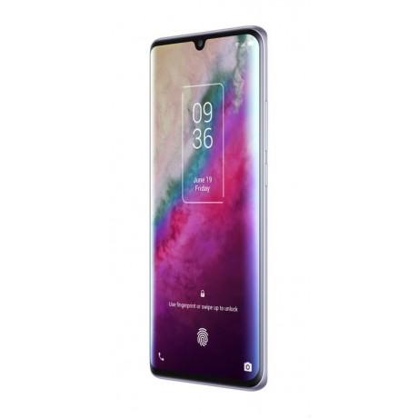 TCL 10 Plus Mobile Phone, Dual SIM 6.47 Inch, 256 GB, 6 GB RAM, 4G - Starlight Silver
