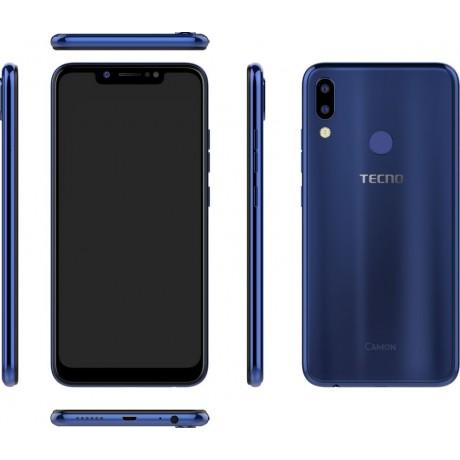 Tecno Camon 11 Dual SIM - 32GB, 3GB RAM, 4G LTE, Aqua Blue
