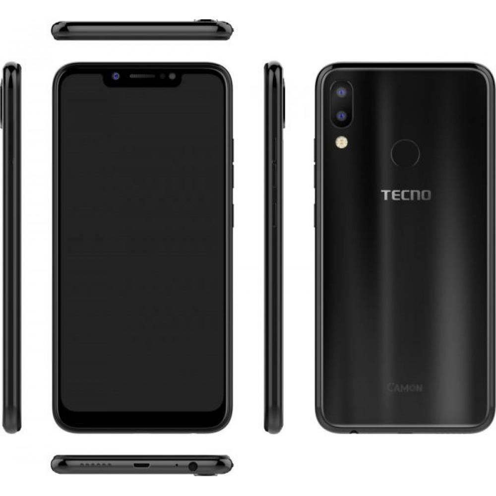 Tecno Camon 11 Dual Sim - 32 GB, 3 GB Ram, 4G LTE, Midnight Black