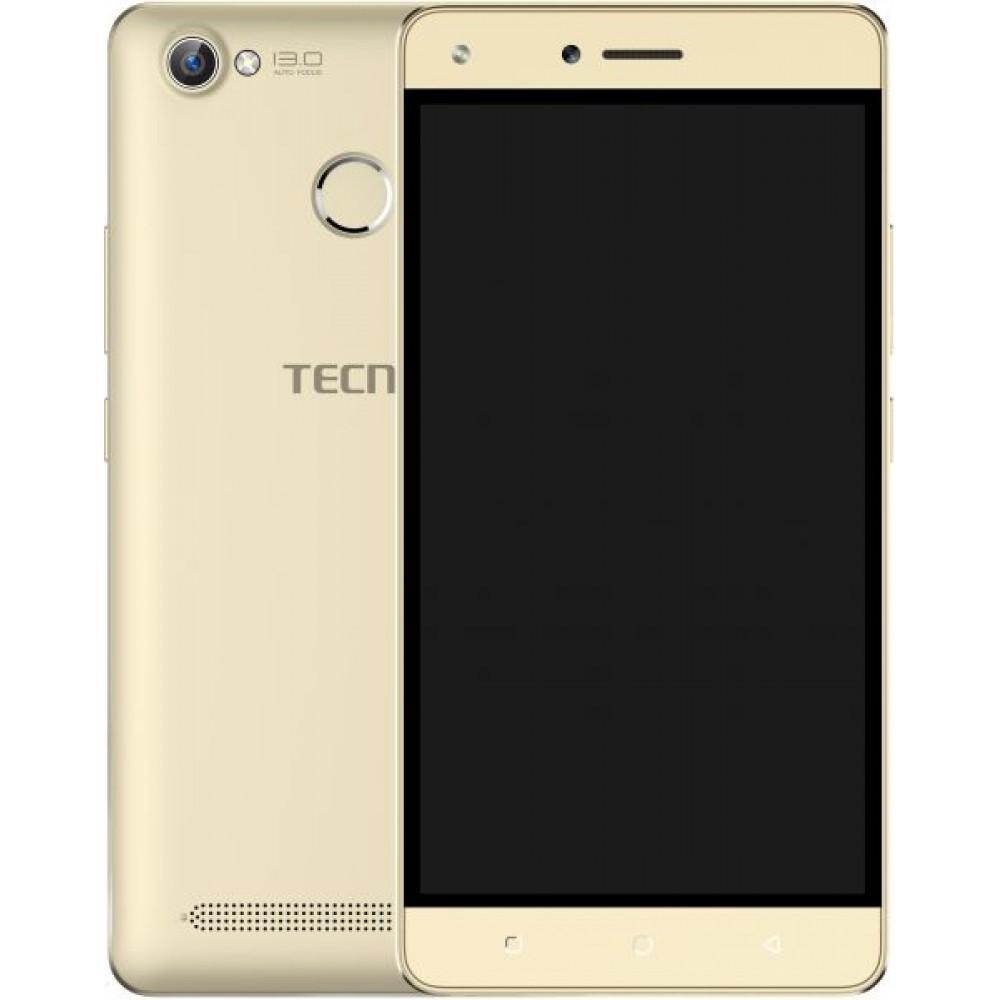 Tecno W5 Dual SIM - 32GB, 2GB RAM, 4G LTE, Gold
