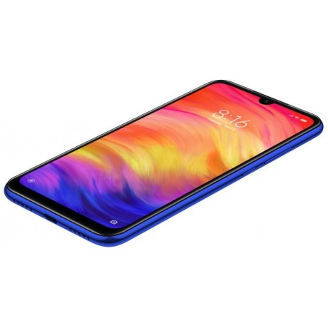 Xiaomi Redmi Note 7 Dual Sim - 64 GB, 4 GB Ram, 4G LTE, Gradient Blue 'International Version