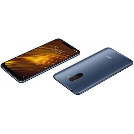 Xiaomi POCOPHONE F1 Dual SIM - 64GB, 6GB RAM, 4G LTE, Blue – International Version