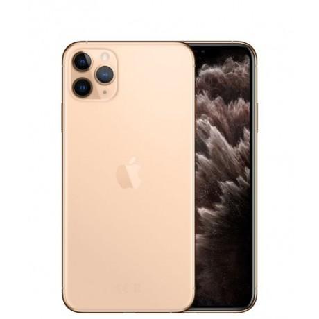 Apple iPhone 11 Pro Max with FaceTime - 256GB, 4GB RAM, 4G LTE, Gold, Single SIM & E-SIM