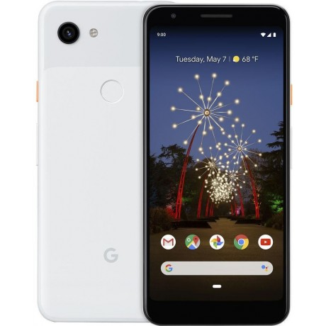 Google Pixel 3a XL - 64GB, 4GB RAM, 4G LTE, Clearly White
