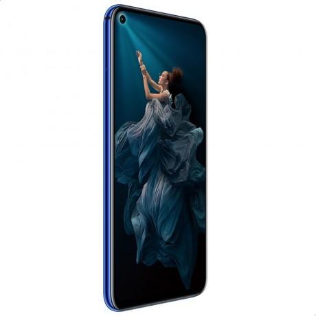 Honor 20 Dual SIM Mobile - 6.26 Inch, 128 GB, 6 GB RAM, 4G LTE - Sapphire Blue