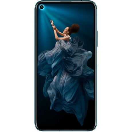 Honor 20 Pro Dual Sim - 256 GB, 8 GB Ram, 4G LTE, Phantom Blue