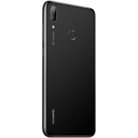 Huawei Y7 Prime 2019 Dual Sim - 32 GB, 3 GB Ram, 4G LTE, Arabic Midnight Black, Dub-Lx1
