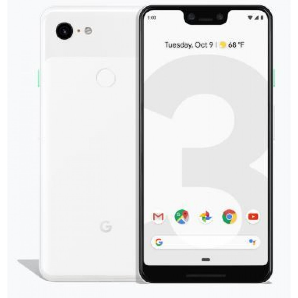 Google Pixel 3 XL - 128GB, 4GB RAM, 4G LTE, Clearly White