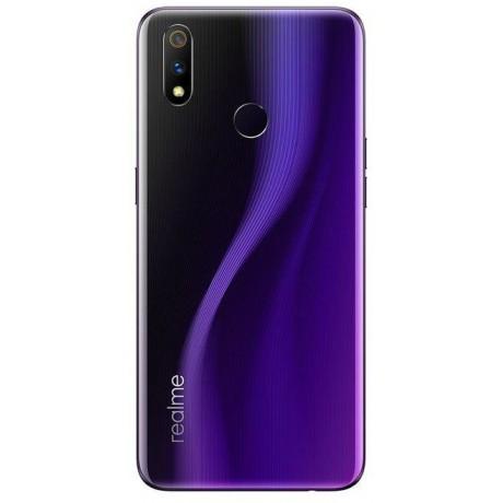 Realme 3 Pro Dual Sim, 128GB, 6GB RAM, 4G LTE - Lightning Purple