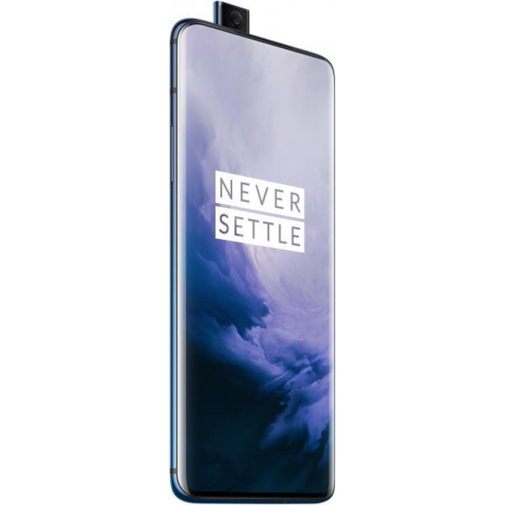 OnePlus 7 Pro Dual SIM - 256GB, 12GB RAM, 4G LTE, Nebula Blue - International Version