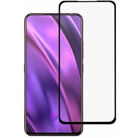 Oppo F11 pro Glass screen protector 9D- Black