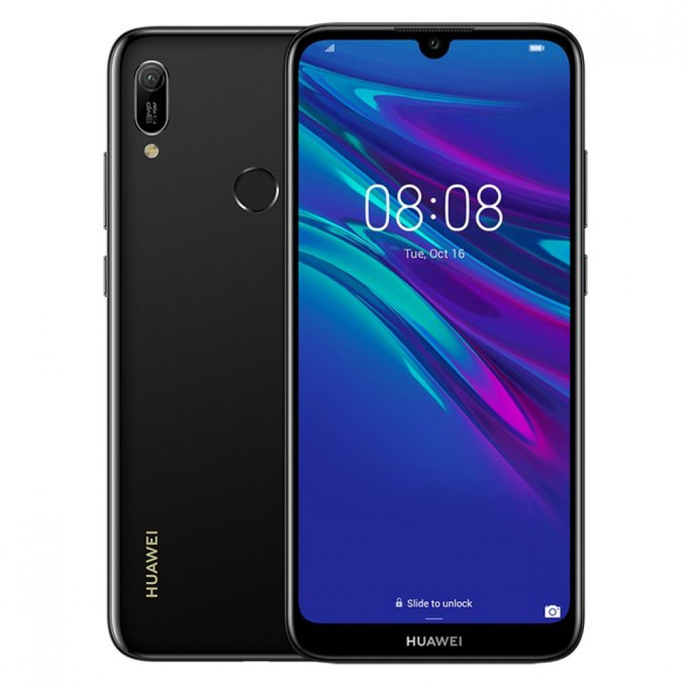 Huawei Y6 Prime (2019) - 6.09-inch 32GB Dual SIM 4G Mobile Phone - Midnight Black