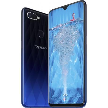Oppo F9 Dual SIM - 64GB, 4GB, 4G LTE, Blue
