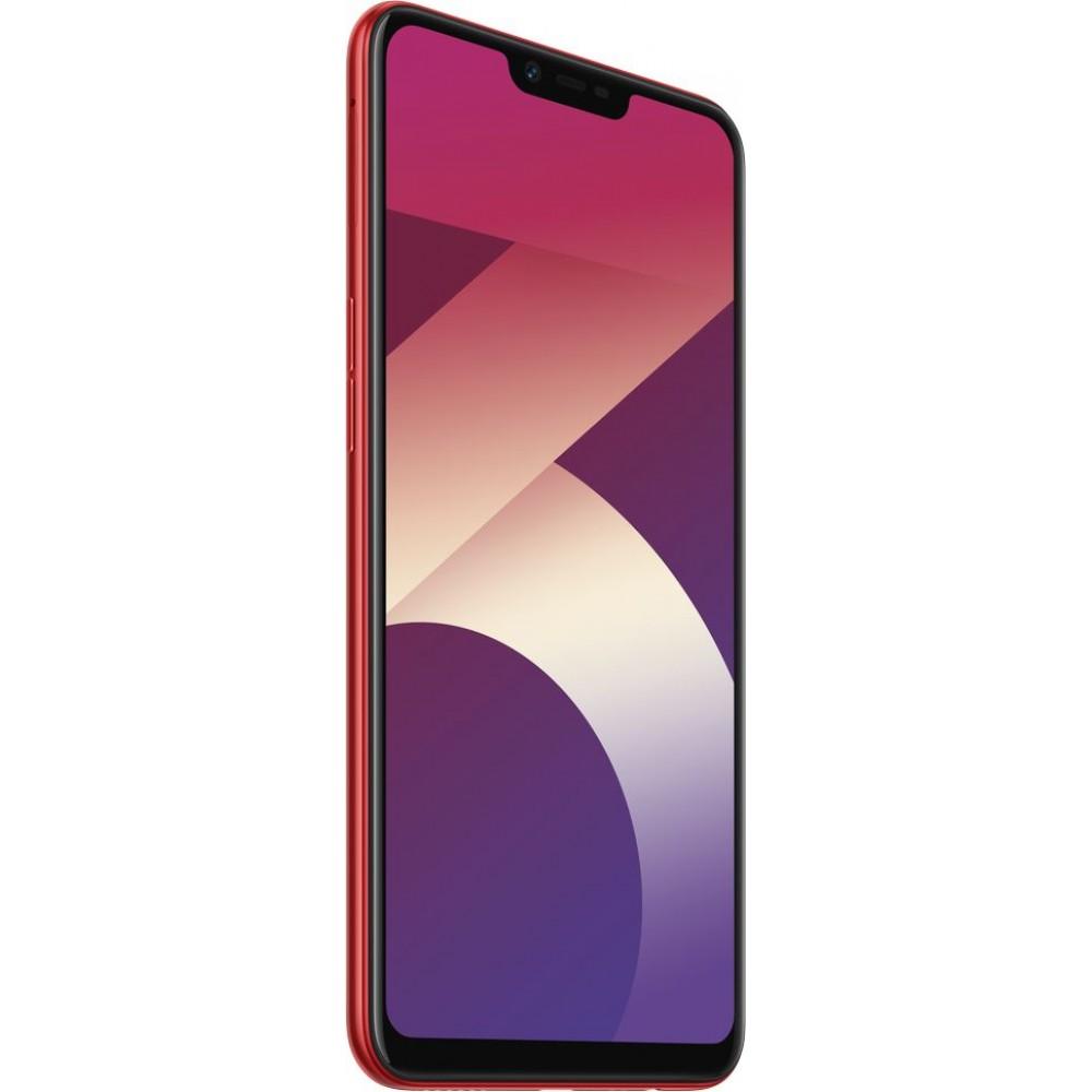 Oppo A3S Dual SIM - 32GB, 3GB RAM, 4G LTE, Red