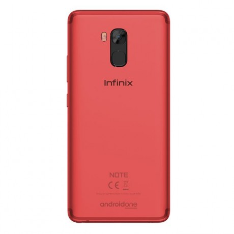 Infinix X605 Note5 Stylus - 6.0-inch 64GB Mobile Phone - Bordeaux Red