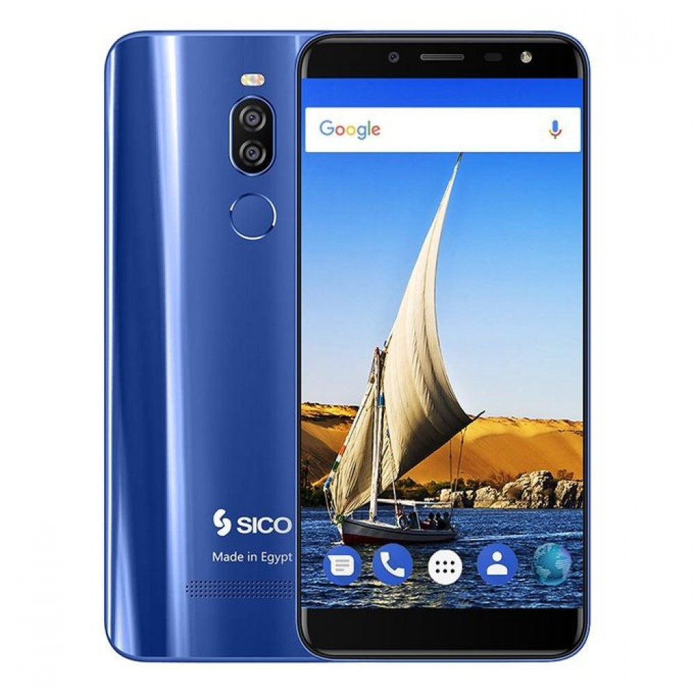 "SICO Nile X - 5.7"" - 64GB - 4G Mobile Phone - Blue"