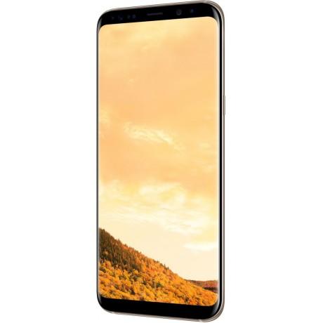 Samsung Galaxy S8+ Dual Sim - 64GB, 4G LTE, Maple Gold