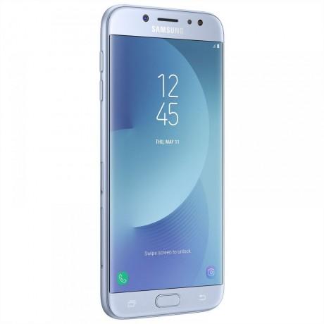 Samsung Galaxy J7 Pro 2017 Dual SIM - 32GB , 3GB RAM , 4G LTE , Blue Silver