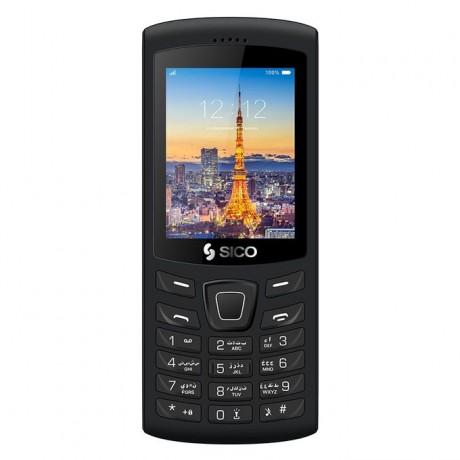 SICO Extra 2 - 2.4-inch Dual SIM Mobile Phone - Black