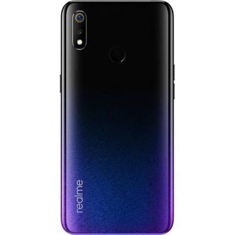 Realme 3 - 6.22-inch 64GB Dual SIM 4G Mobile - Radiant Blue