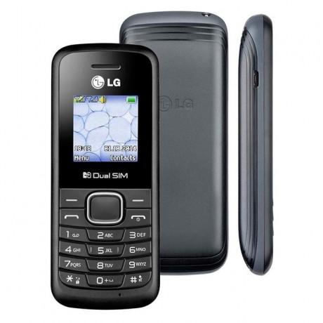 """LG B220 - 1.45"""" Dual SIM Mobile Phone - Black"""