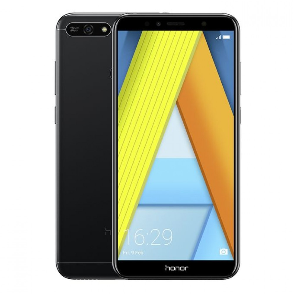 honor 7A - 5.7-inch 16GB Dual SIM Mobile Phone - Black