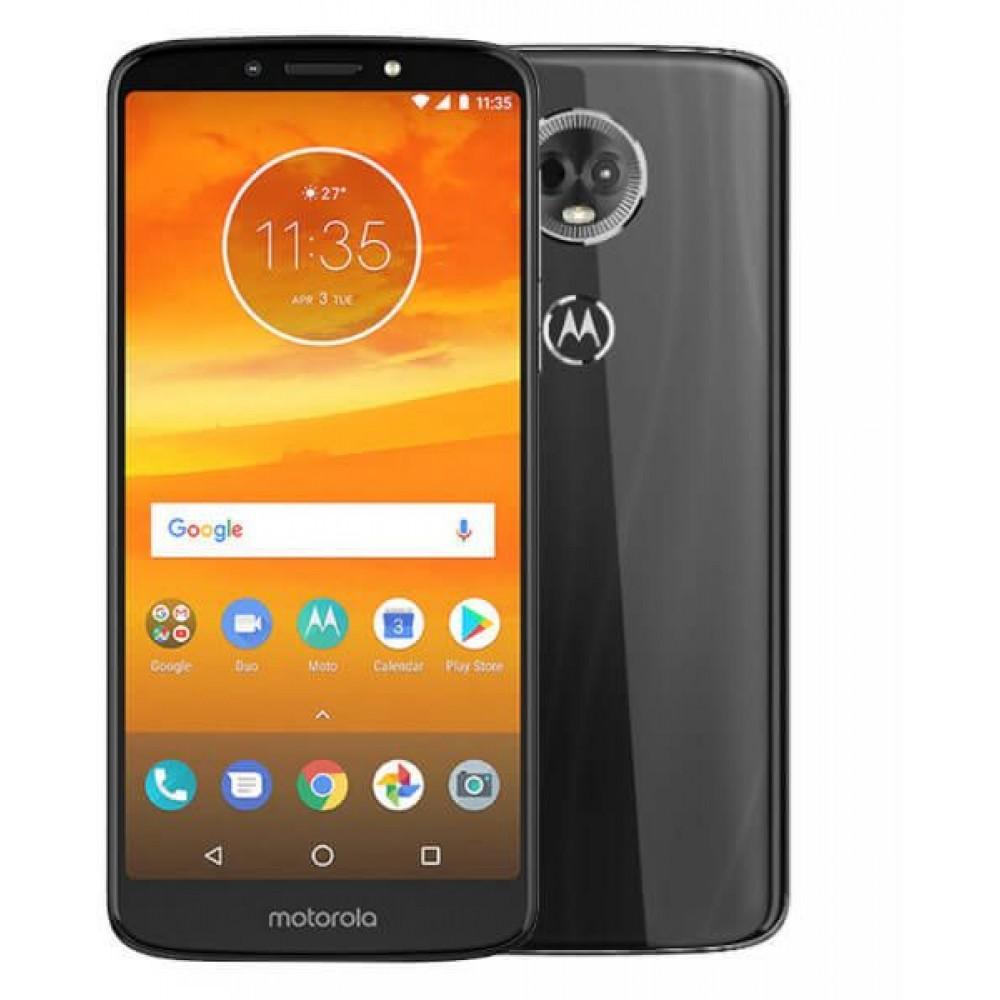 Motorola Moto E5 Plus Dual SIM - 32GB, 3GB RAM, 4G LTE, Grey