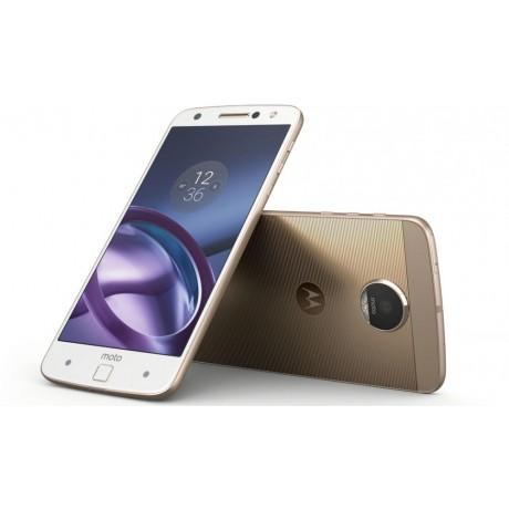 Motorola Moto Z - 32GB, 4GB RAM, 4G LTE, White/Fine Gold