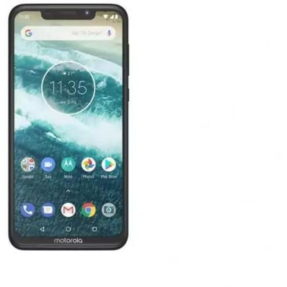 Motorola One Dual SIM - 64GB, 4GB RAM, 4G LTE, Black