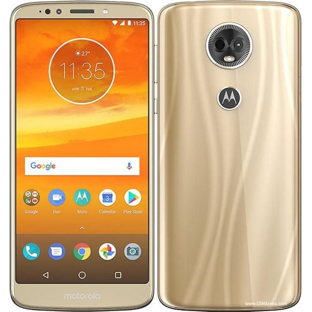 Motorola Moto E5 Plus Dual SIM - 32GB, 3GB RAM, 4G LTE, Fine Gold