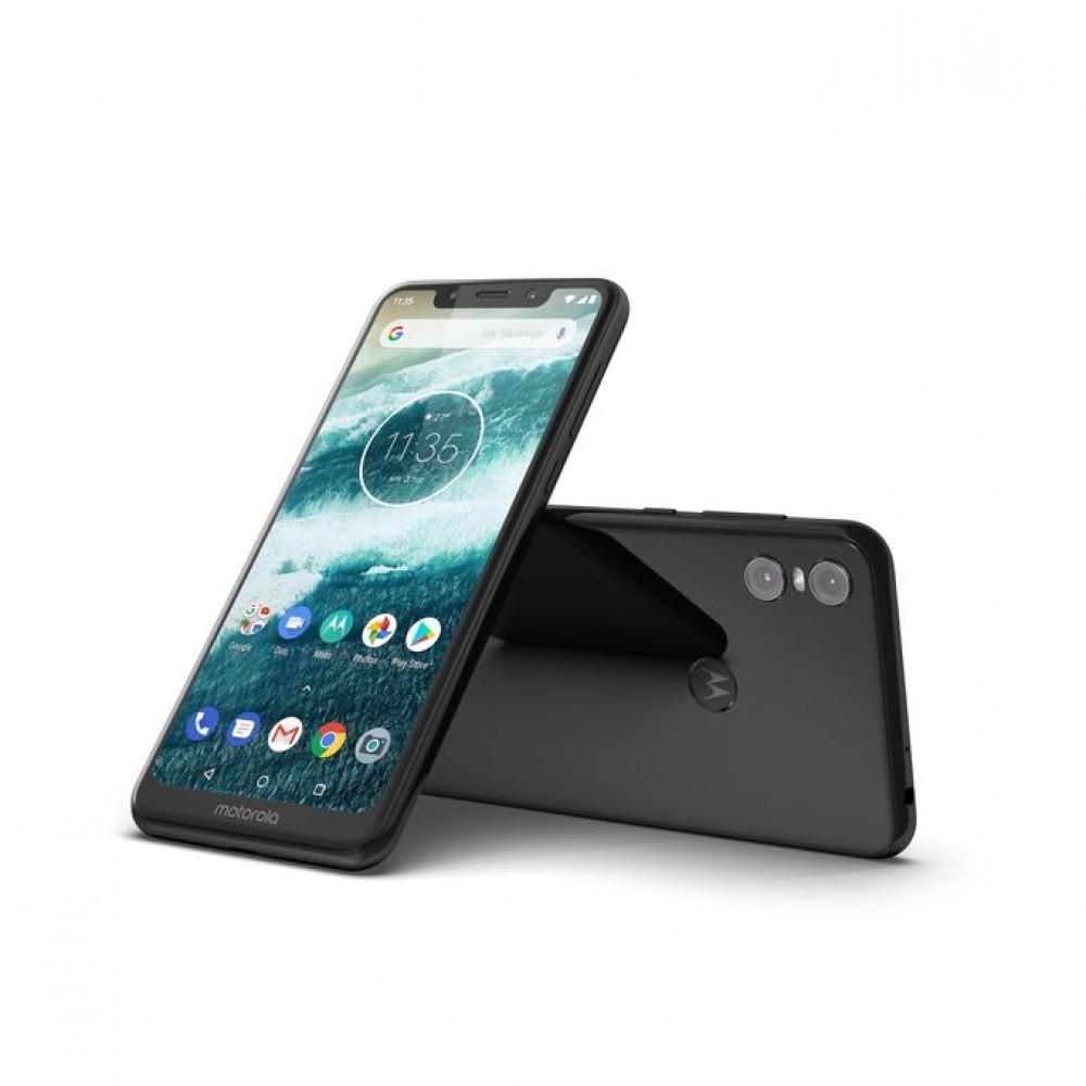 Motorola Motorola One P30 Play Dual SIM - 64GB - 4GB RAM - 4G LTE - Black